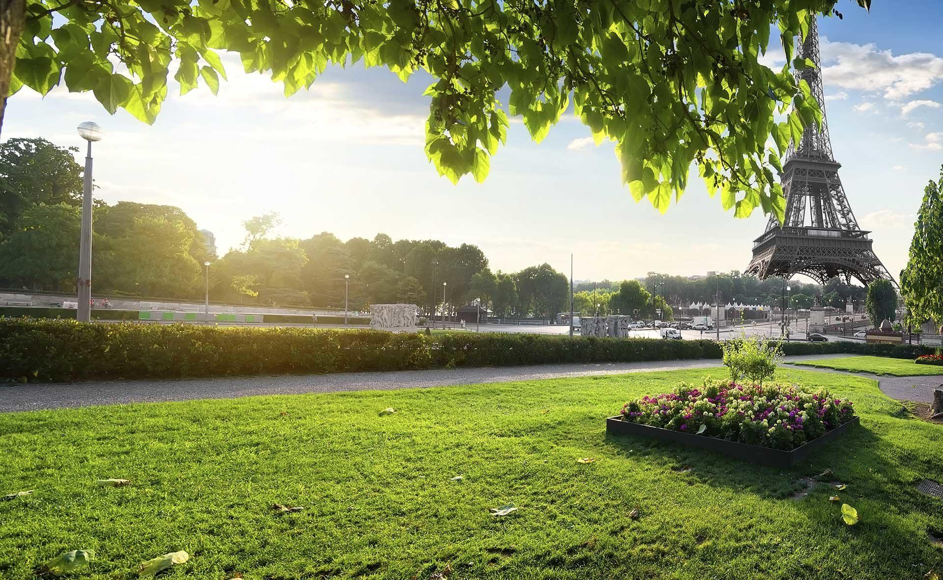 Fotografía de Francia, París, verde, sostenible, Torre Eiffel, medioambiente