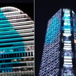dia-mundial-Agua-edificios-iluminados-sede-BBVA-vela-torre-bancomer-