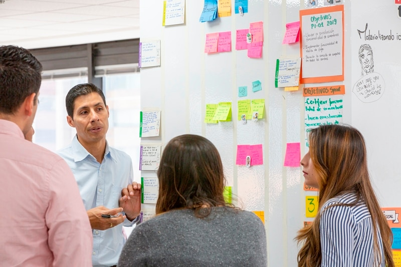 Fotografía de BBVA Colombia vive la transformación digital con el apoyo de los Agile Coach
