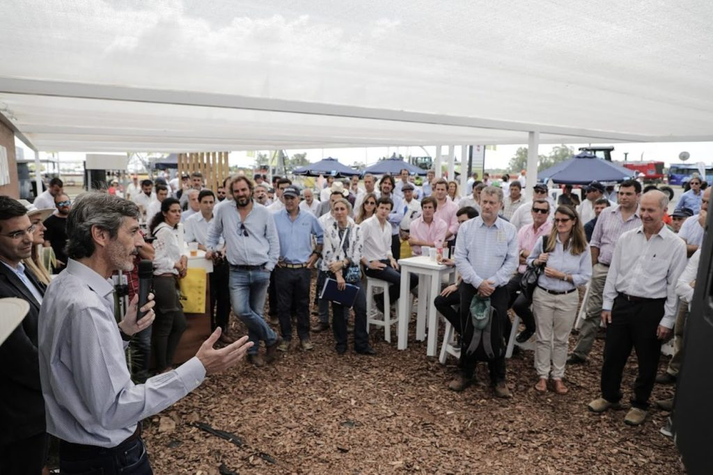 Martín Zarich en Expoagro