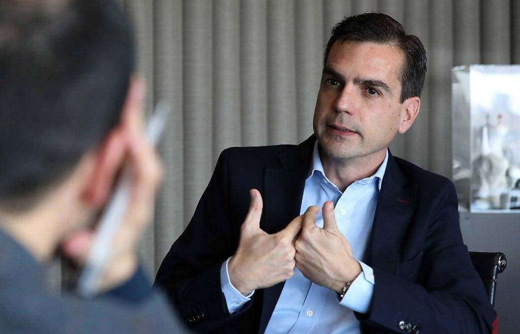 Carlos Casas, responsable Global de Talento y Cultura en BBVA