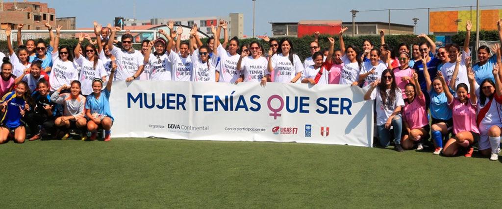 #MujerTeníasQueSer: el fútbol para lograr la igualdad de oportunidades