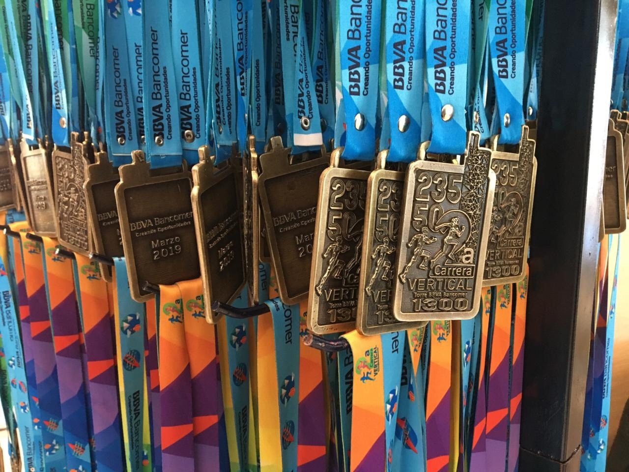Medallas Segunda Carrera Vertical BBVA Bancomer