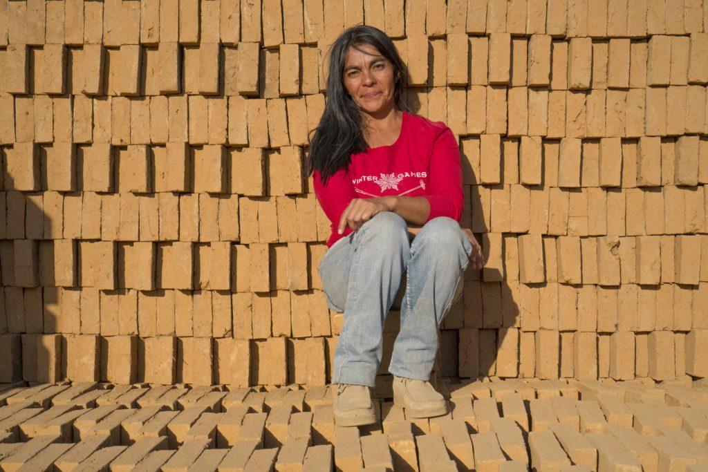 Fotografía de Rosa Norambuena, emprendedora chilena de la FMBBVA