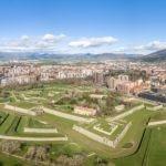 Fotografía de verde, paisaje, Navarra, Pamplona, Muralla, naturaleza, sostenibilidad, medioambiente