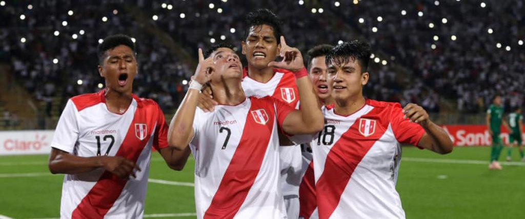Sudamericano Sub 17: Peru inicia la ruta al Mundial