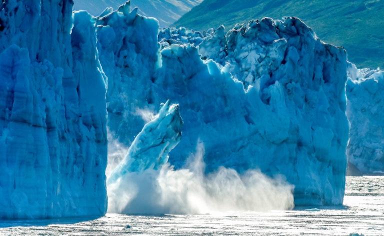 Cambio climático, hielo, agua, océanos, glacial, azul, cambio climático, calentamiento global bbva recurso