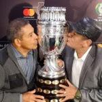 CONMEBOL Copa America: Chumpitaz y Sotil se reencontraron con el trofeo