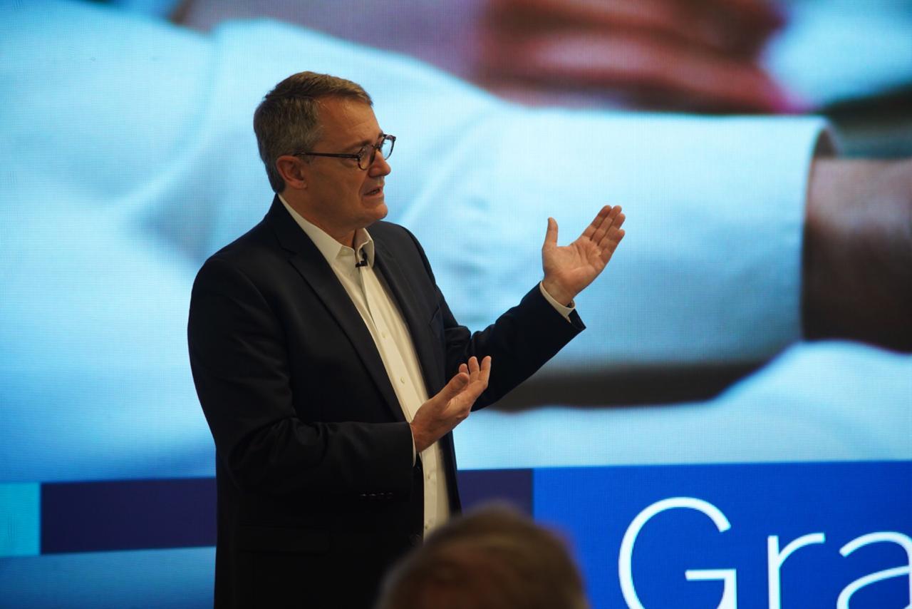 Imagen del Óscar Cabrera, presidente de BBVA Colombia