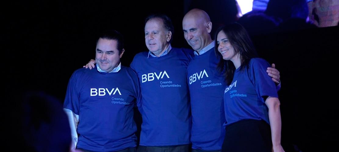 BBVA en Peru: las mejores imagenes del lanzamiento de la nueva marca global