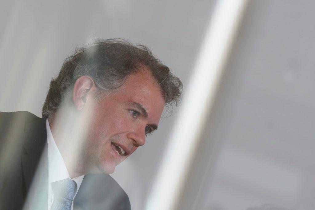 Nota a Juan Manuel Ruiz, economista jefe de BBVA Research para America del Sur, en su sede de Montevideo, ND 20190605, foto Leonardo Maine - Archivo El Pais