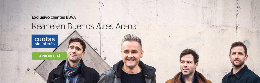 Keane en Argentina