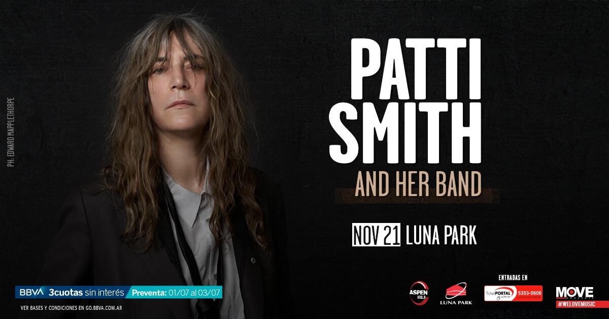 Patti Smith en Argentina