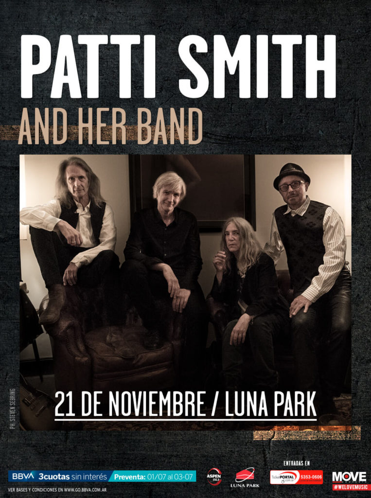 Patti Smith en Argentina