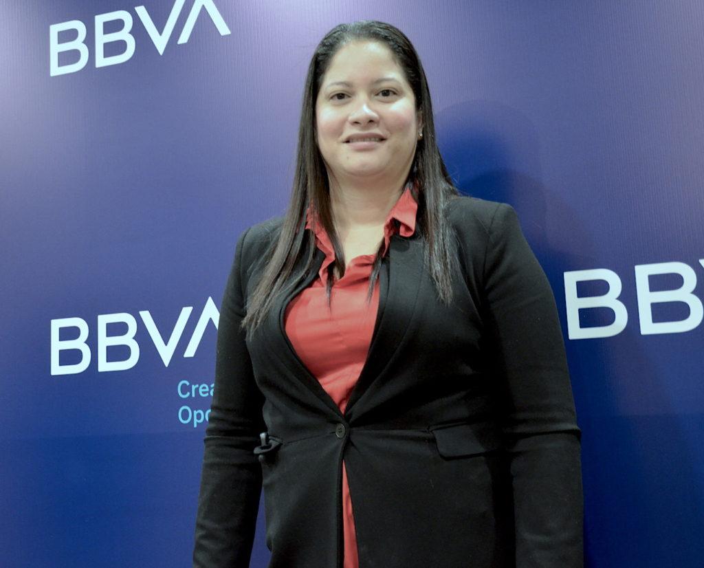 Tatiana Solanco, grupo empresarial Solanco-BBVA Momentum 2019.