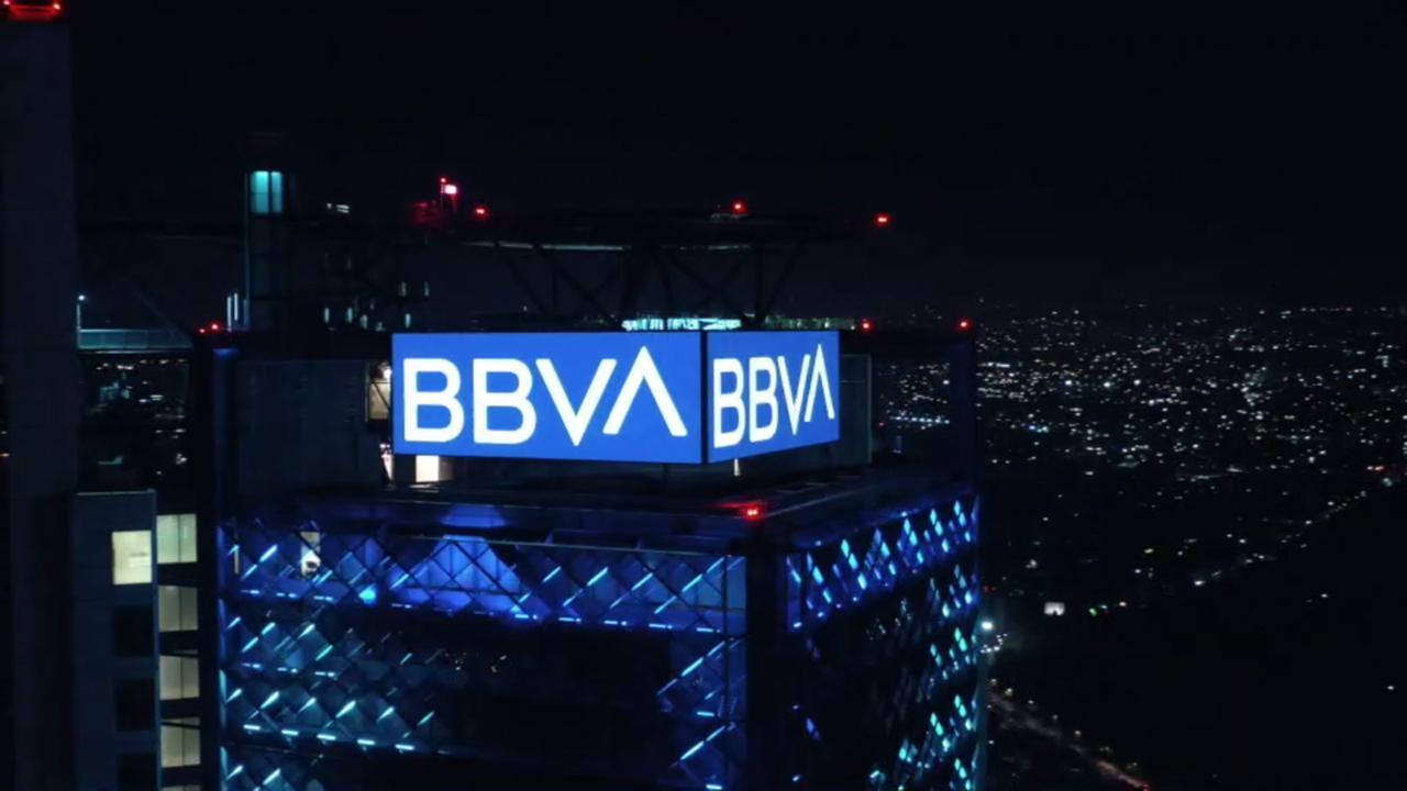 Torre BBVA Mexico Nueva marquesina