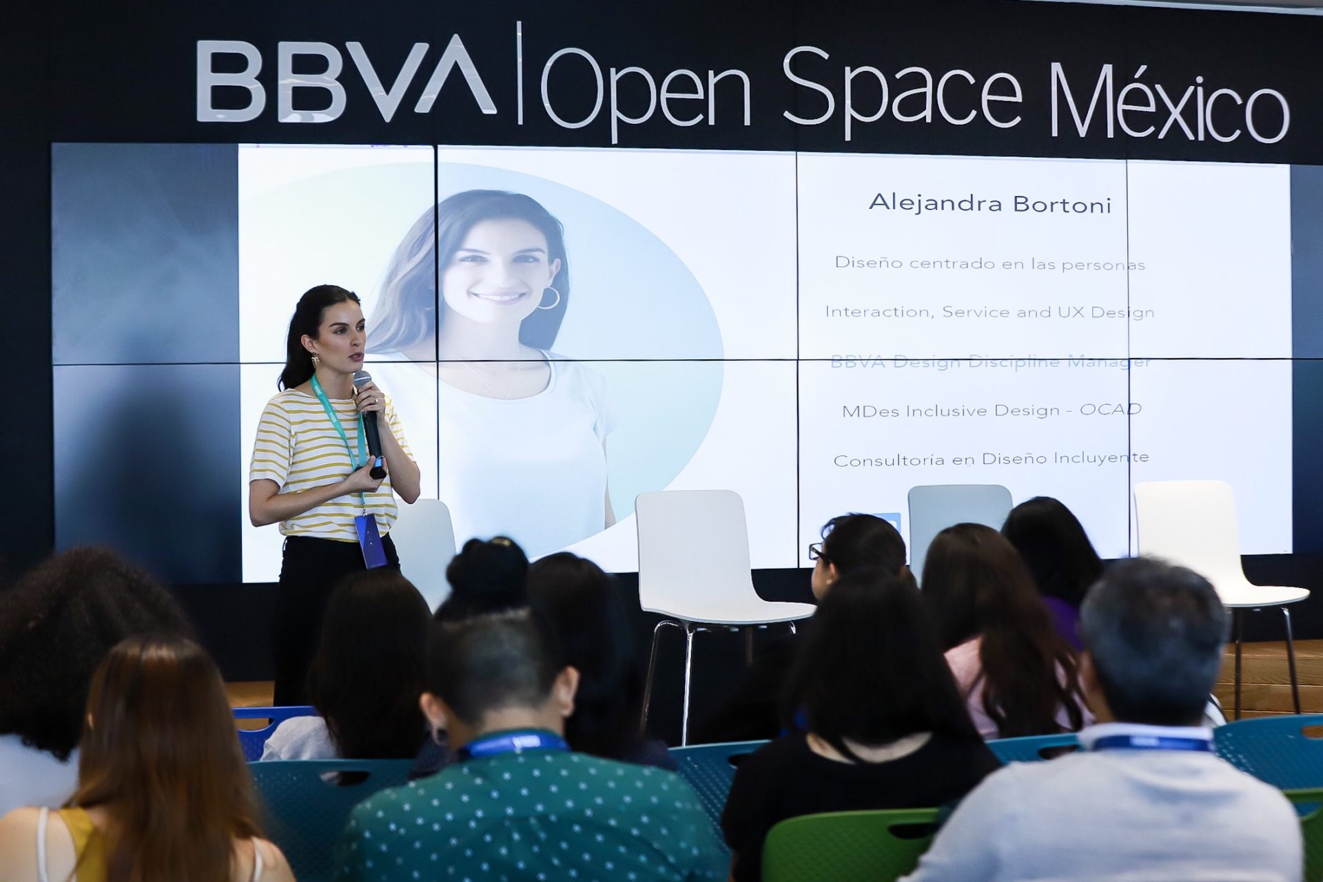 Alejandra Bortoni BBVA Open Space