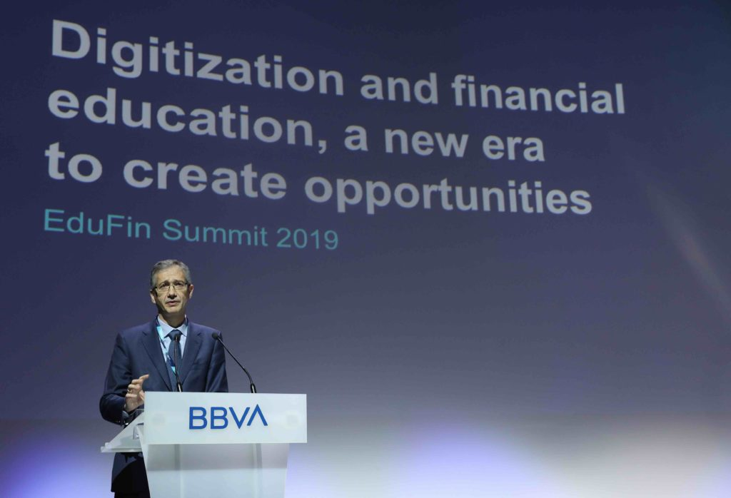 BBVA EduFin Summit 19_Pablo Hernández de Cos- gobernador Banco España