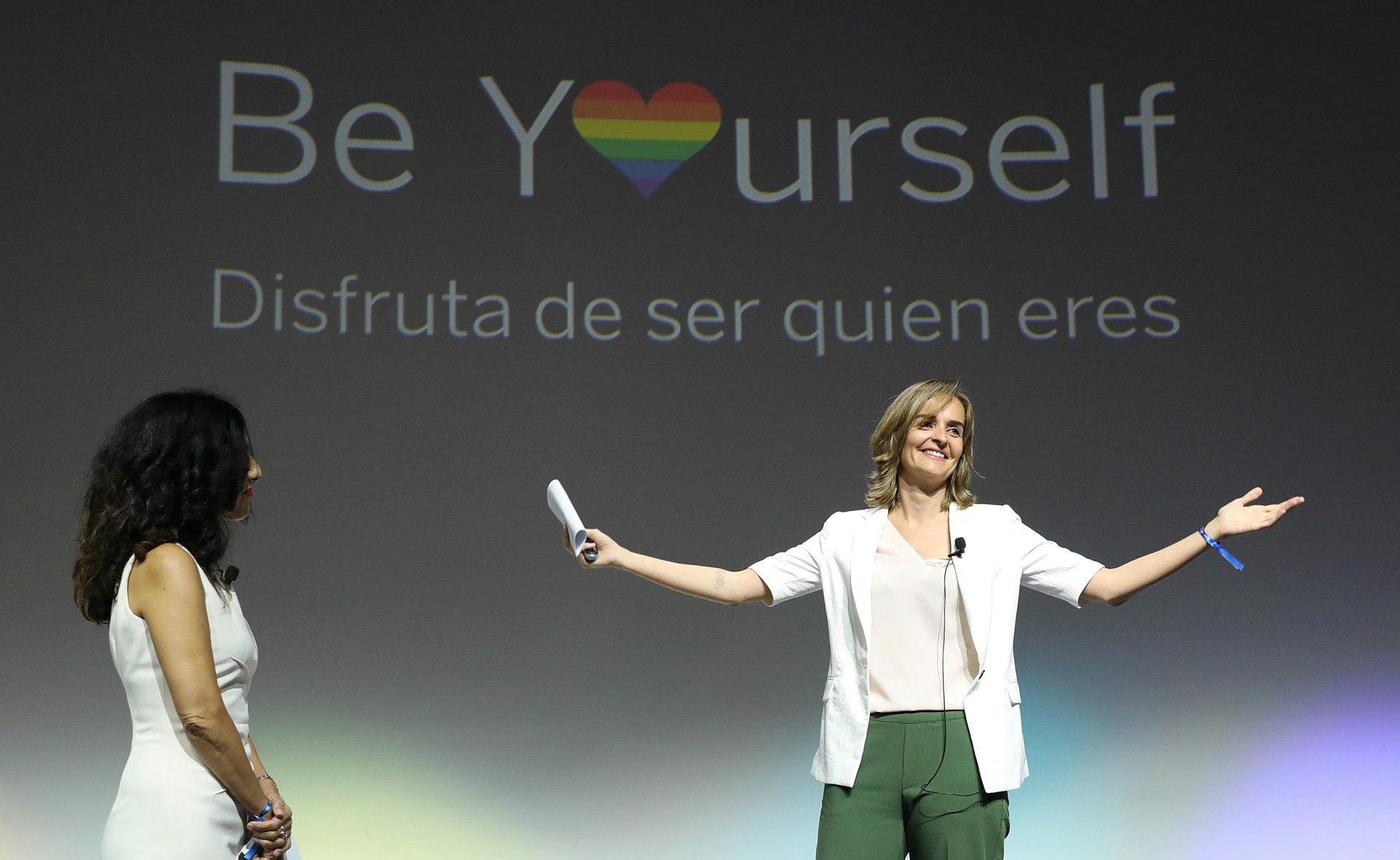 Beyourself, diversidad, colectivo, orgullo, gay, bbva