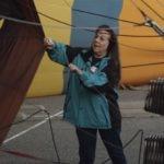 Kathleen-Fennell- voluntariado-USA-embajadores- BBVA-globos-fiesta