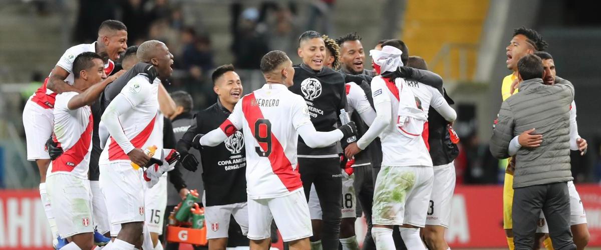 Peru Vs Brasil Por El Titulo De La Conmebol Copa America Bbva