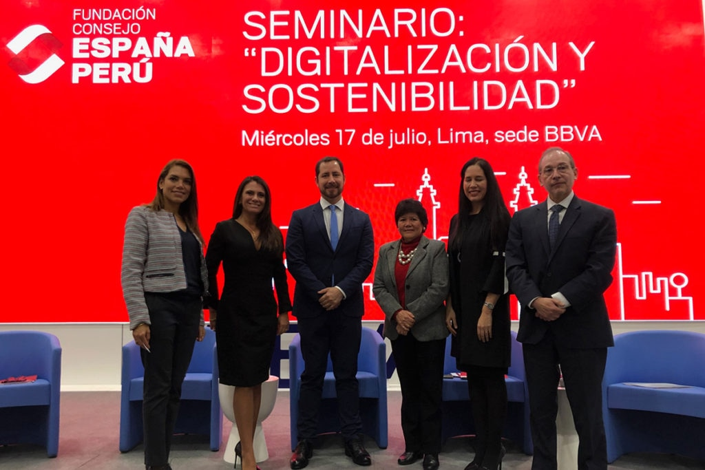 Digitalización y sostenibilidad: la importancia de generar acción desde las empresas Fundacion Consejo España-Peru