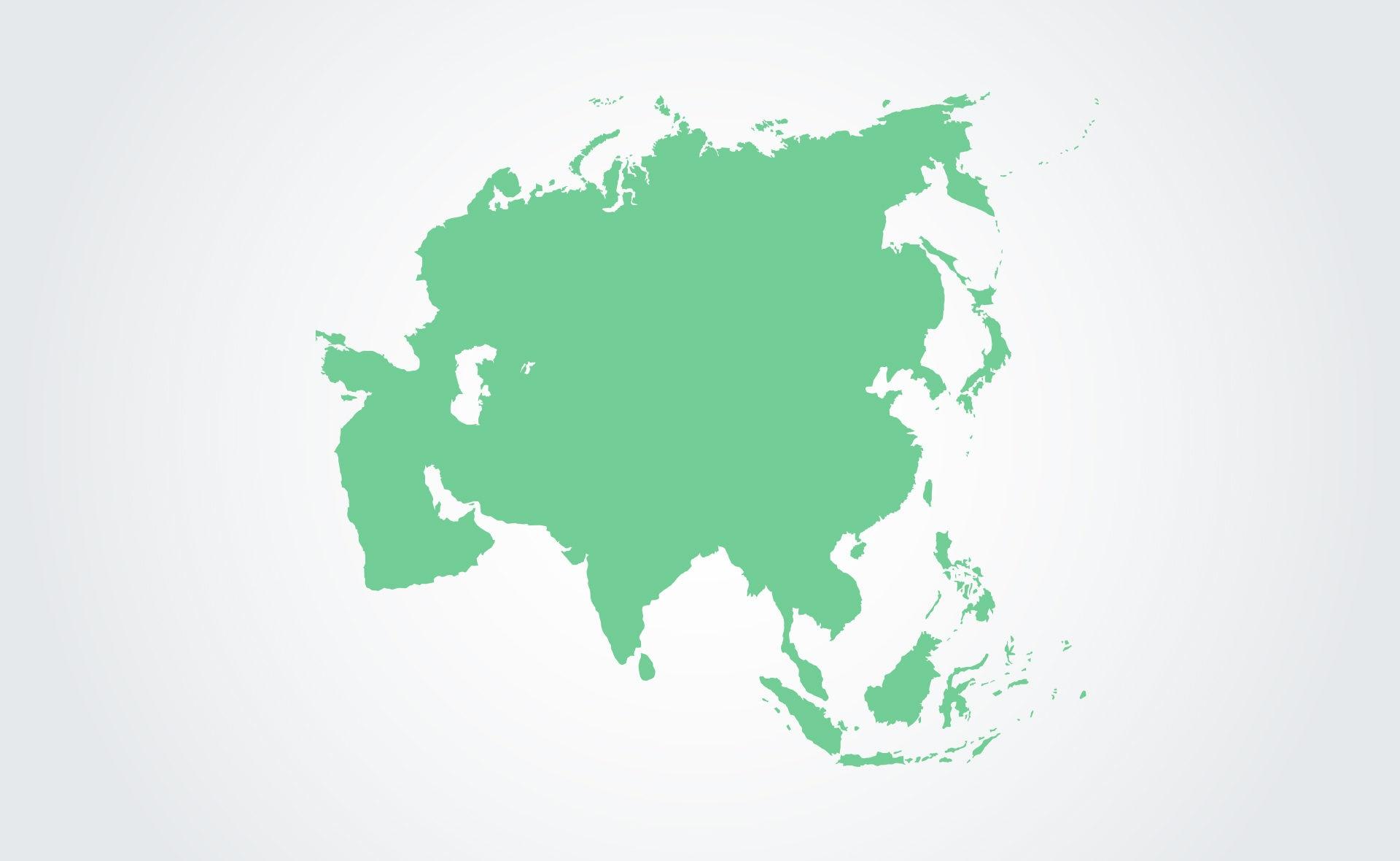 Fotografía de Sostenibilidad, mapa, Asia, china, mercados, finanzas sostenibles, verde