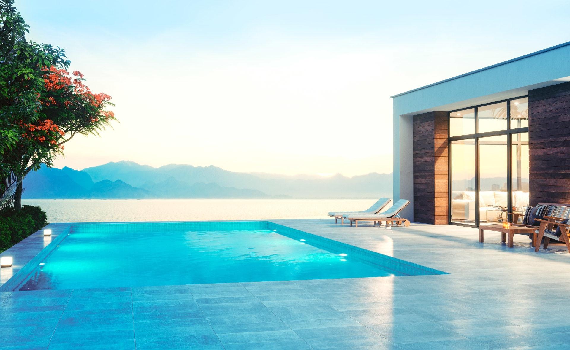 Fotografía de hotel, playa, verano, Ibiza, paisaje, terraza
