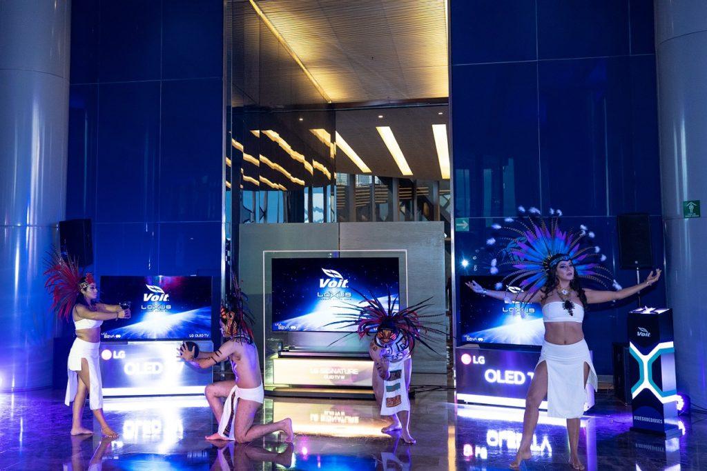 presentación de balón lexus liga BBVA mx