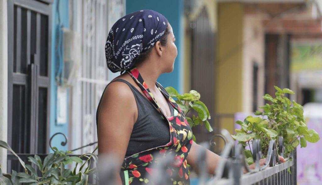 Fotografía de emprendedora de Apartadó FMBBVA Colombia