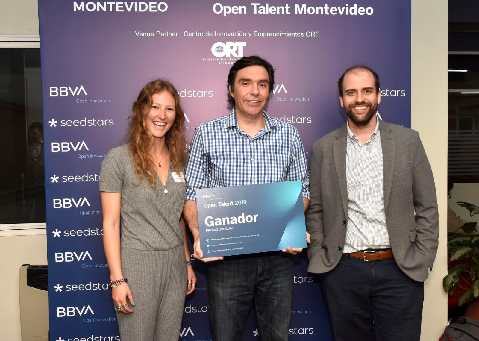 Open Talent Uruguay y sus ganadores 2019