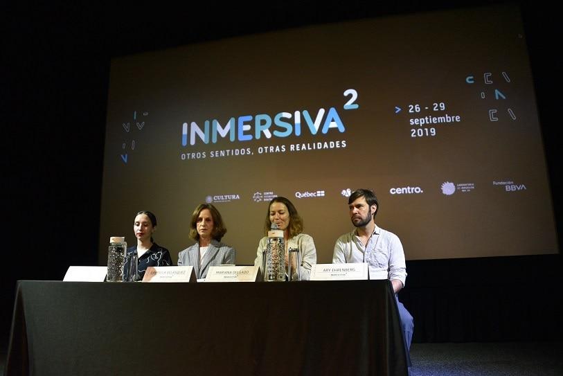 rueda de prensa festival inmersiva mx