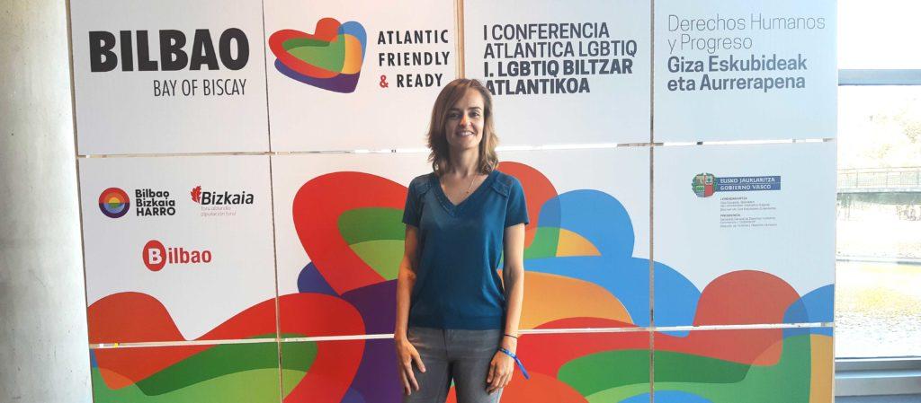 Ízaro Amilibia de BBVA participa en la Conferencia Atlántica LGTBI en Bilbao