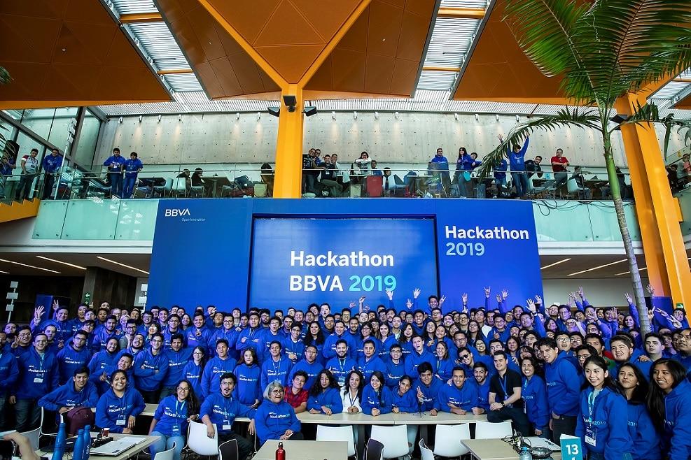 Participantes de Hackathon BBVA 2019, México -2
