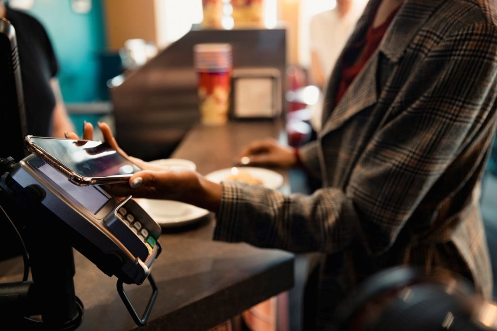 pago contactless , tpv