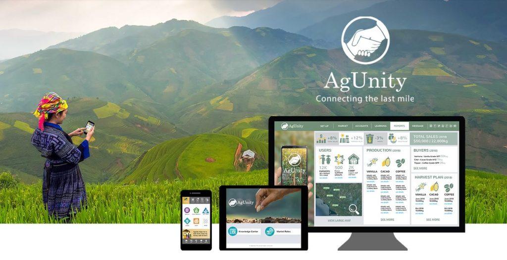 AgUnity webpage