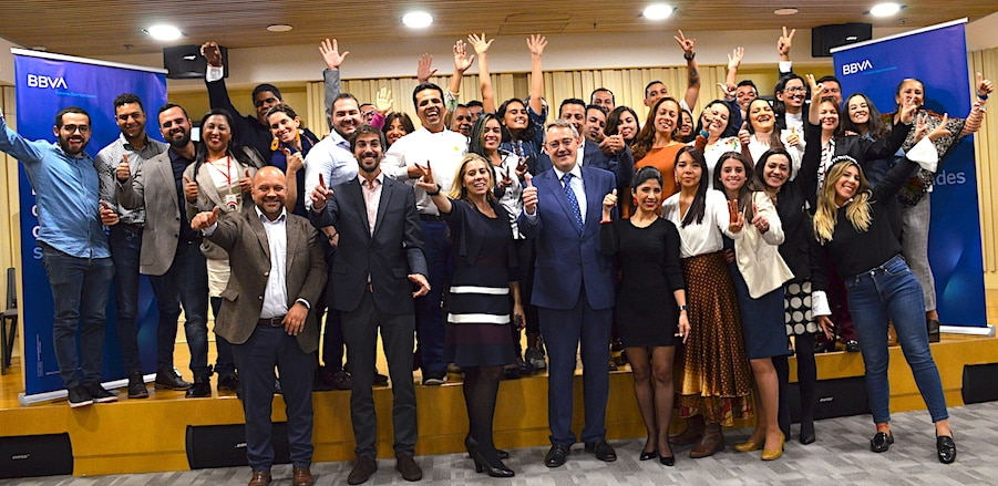 Clausura de BBVA Momentum 2019 Colombia.