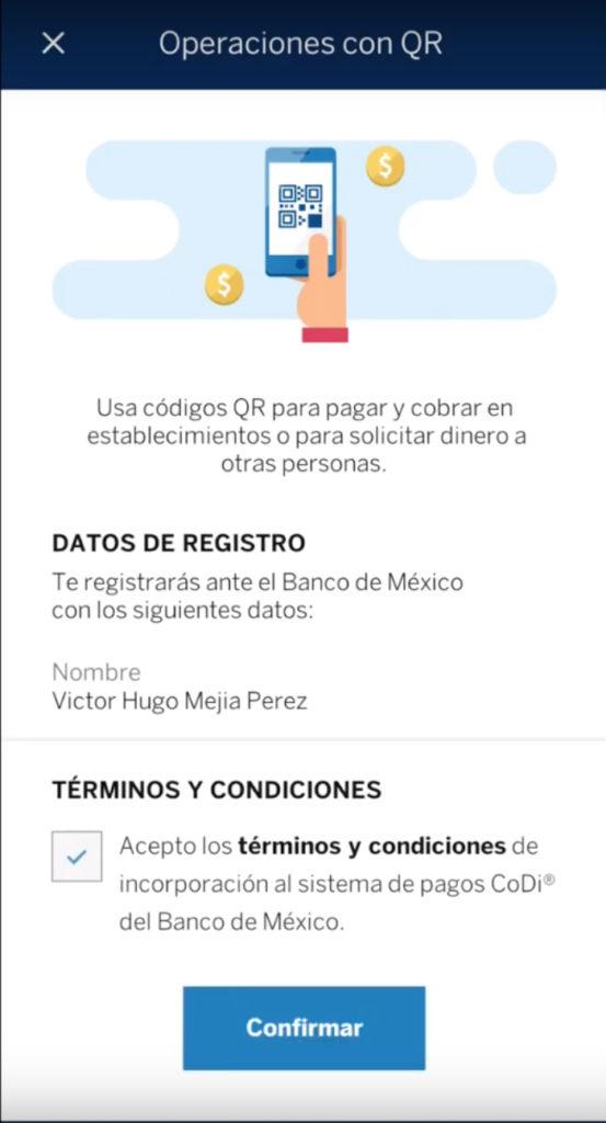 Cómo comenzar a usar CoDi en la app BBVA México?