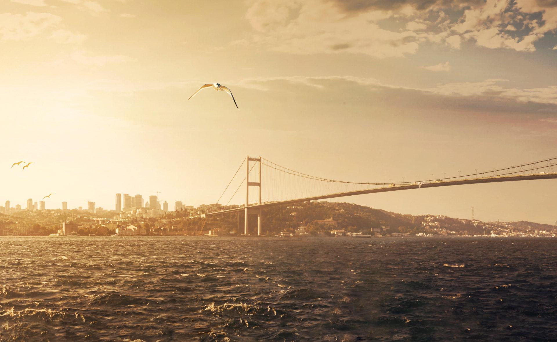 estambul-Turquía-comercio-exterior-puente-Bosforo