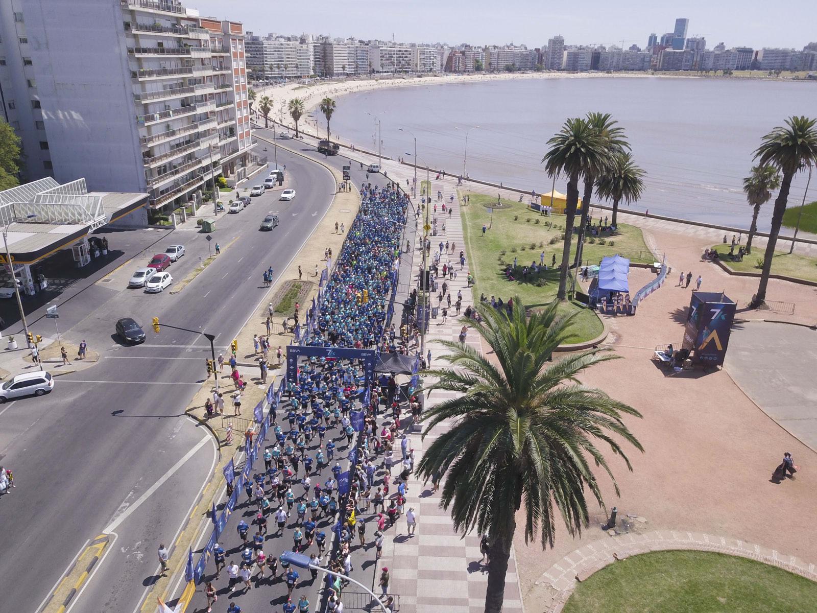 7K La Rambla en Montevideo