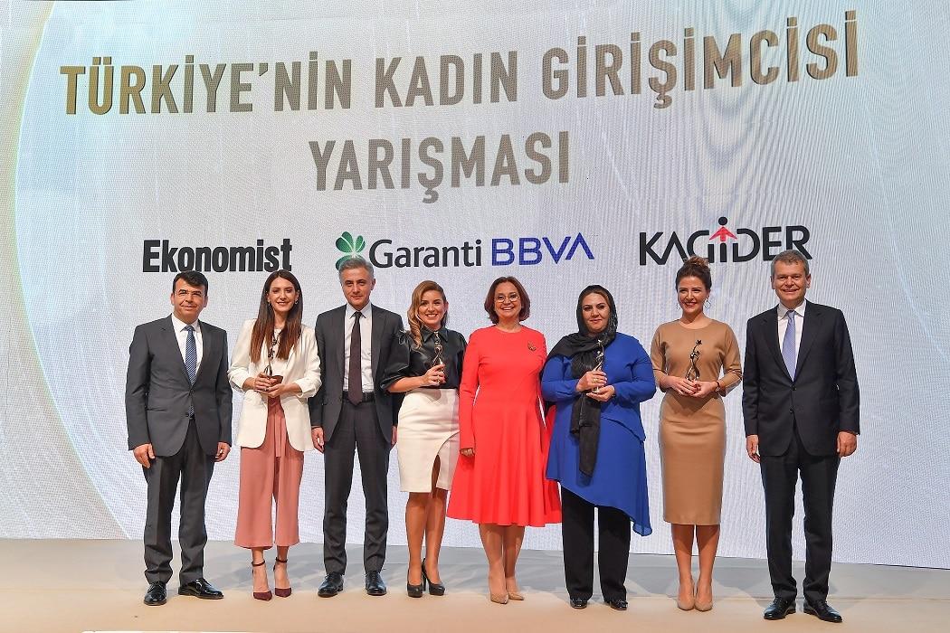 garanti BBVA - winners women entrepeneurs 2019