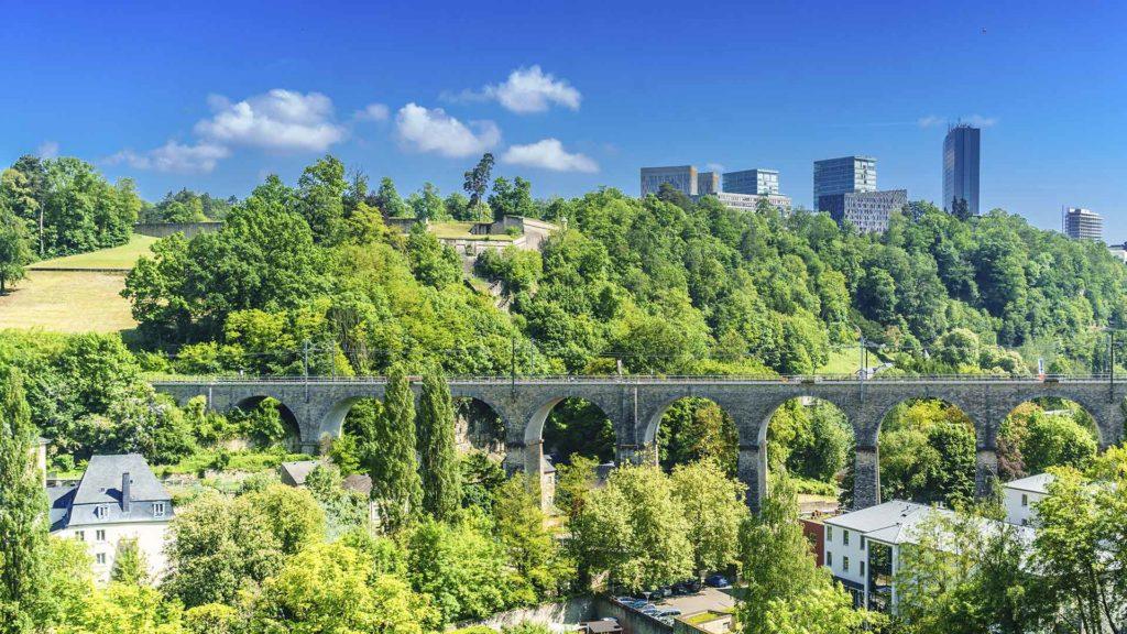 Fotografía de Bono verde, sostenibilidad, Luxemburgo, Europa, vegetación, bono sostenible