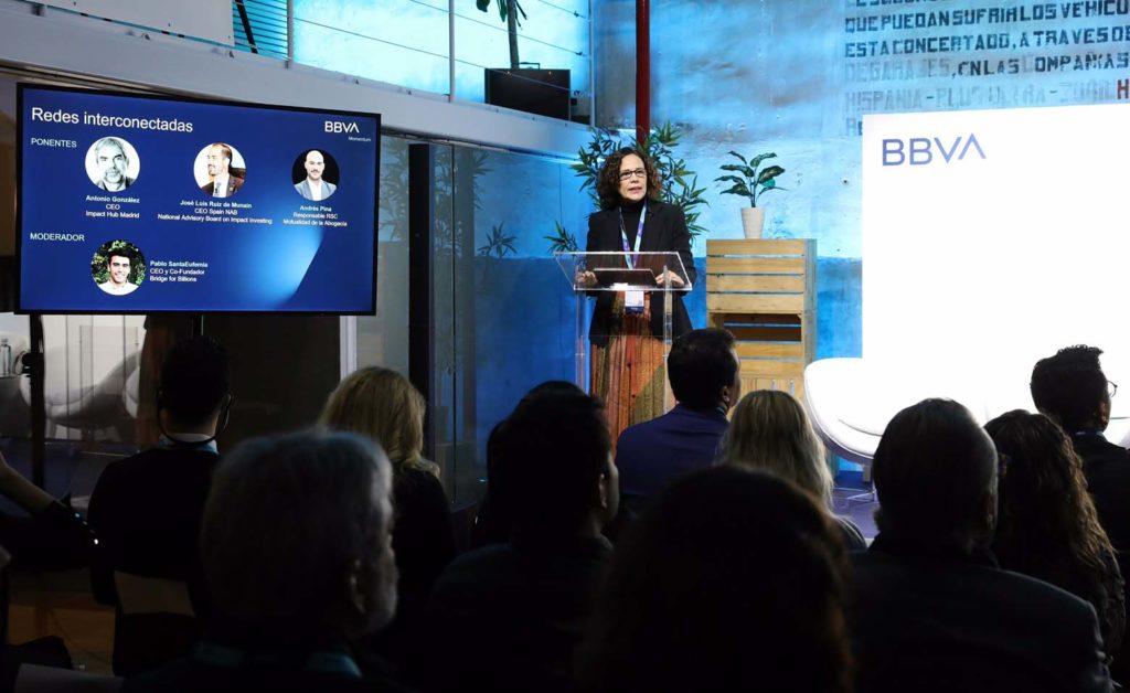 Lidia del Pozo, directora de Programas de Inversión en la Comunidad de BBVA