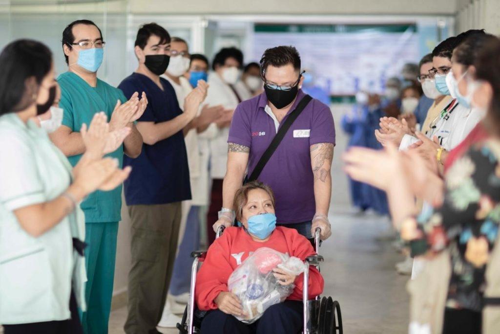 Paciente recuperadoCOVID mexico