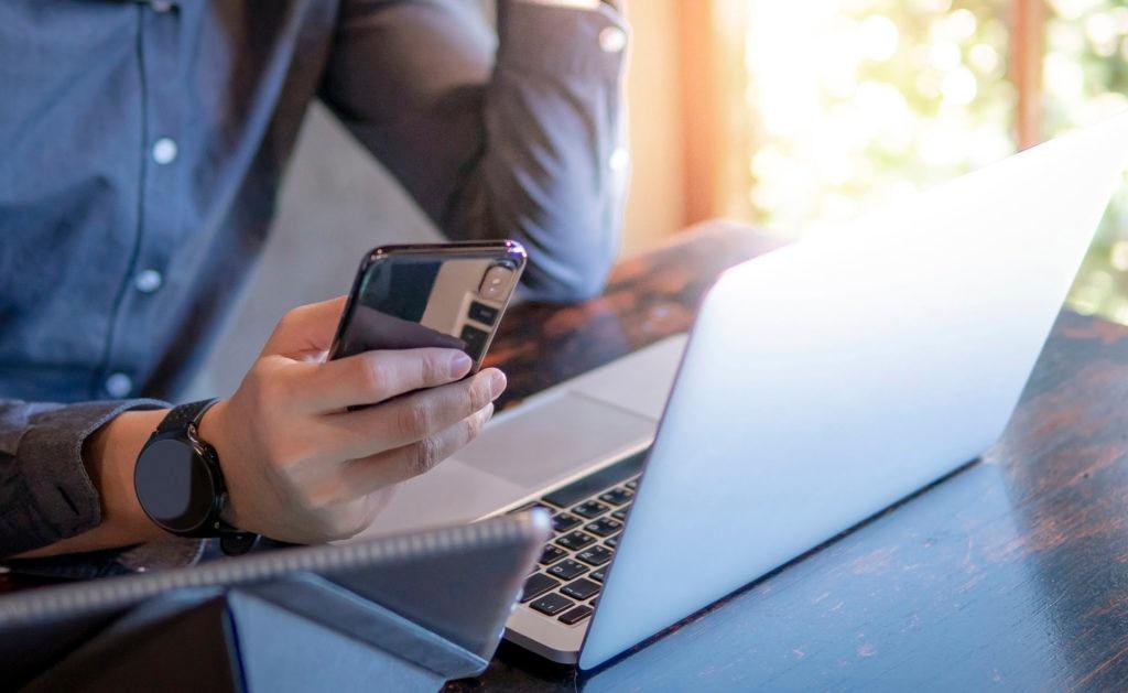 ordenador, portatil, canales, digitalización, transformacion, conectado, movil, canales