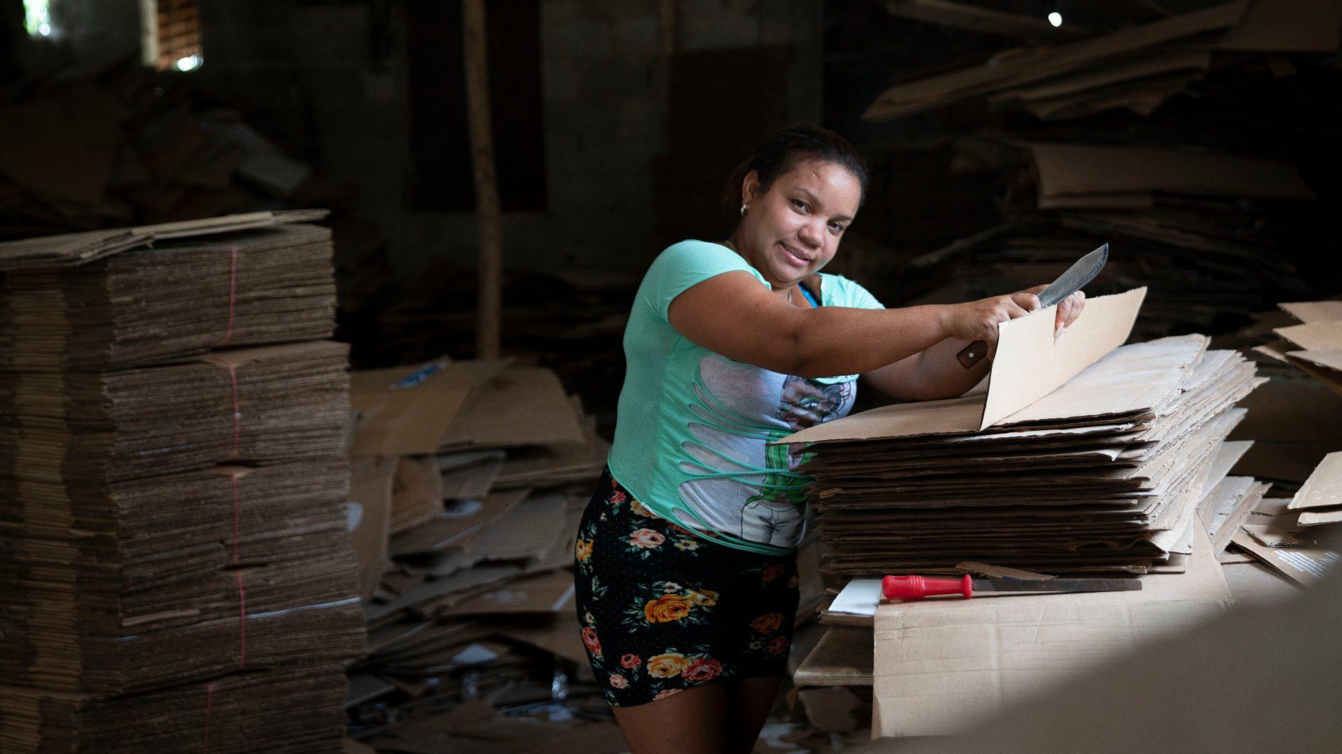 Fotografía de Yohanna Sosa, emprendedora dominicana FMBBVA