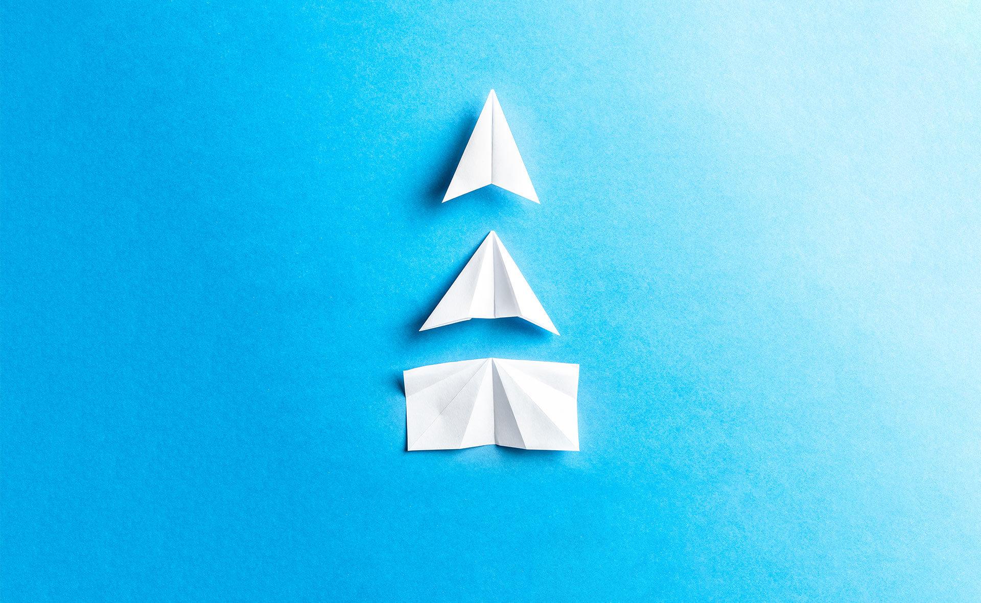 BBVA-informes-cambio-climatico-barcos-papel