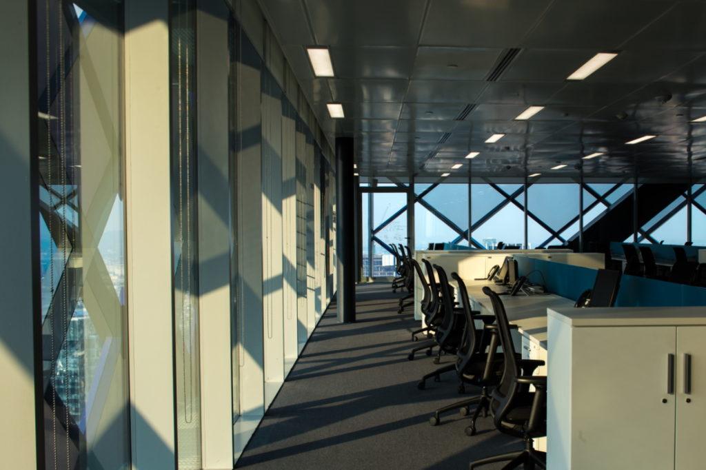 Interior Torre BBVA