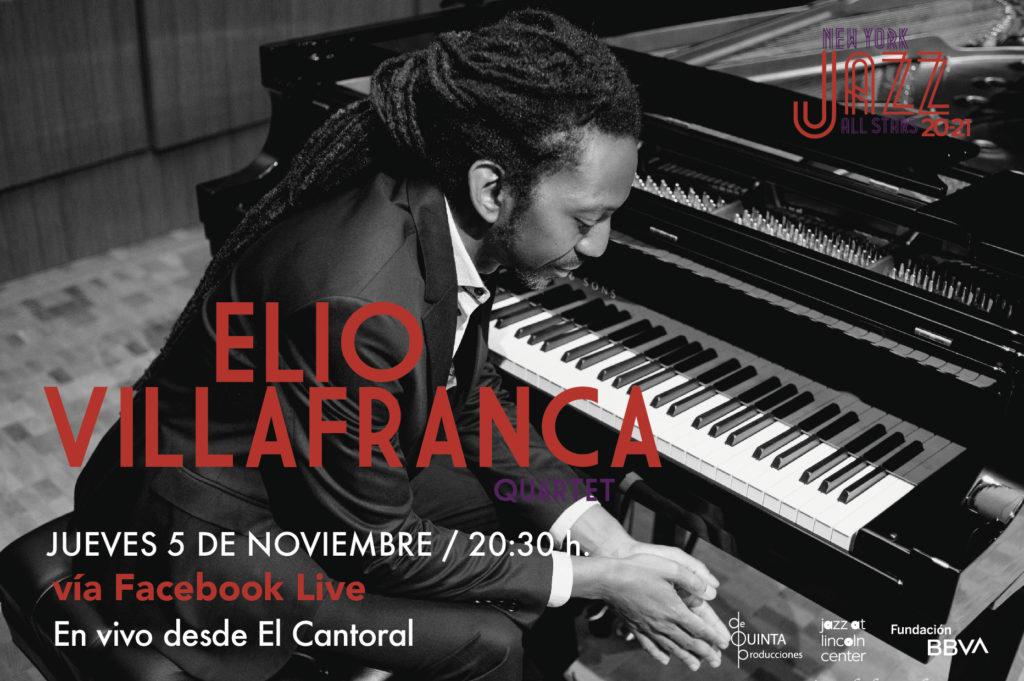 Concierto gratuito de Elio Villafranca en el Cantoral
