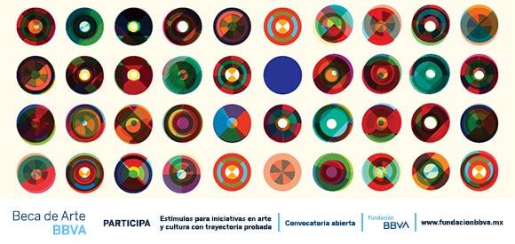 Convocatoria Beca de Arte BBVA México